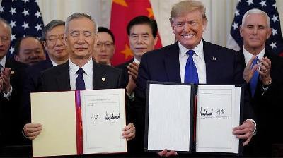 ABD ile Çin Arasında Ticaret Anlaşması İmzalandı