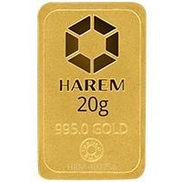 Harem Altın 20 Gram Külçe Altın