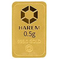 Harem Altın 0,5 Gram Külçe Altın